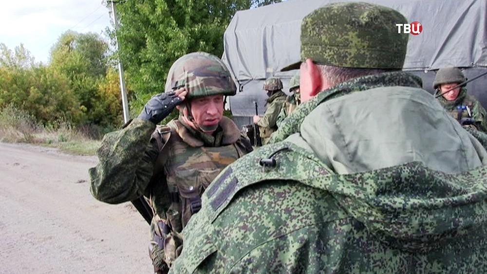 Российские наблюдатели в Донбассе