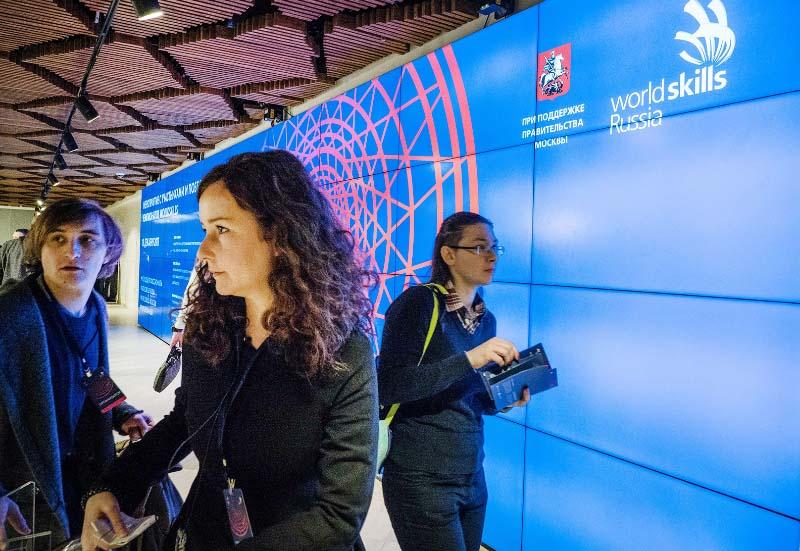 Церемония награждения победителей чемпионатов по стандартам WorldSkills