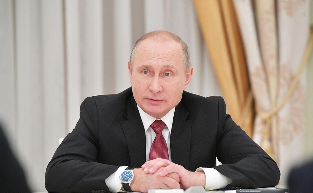 Президент России.Владимир Путин