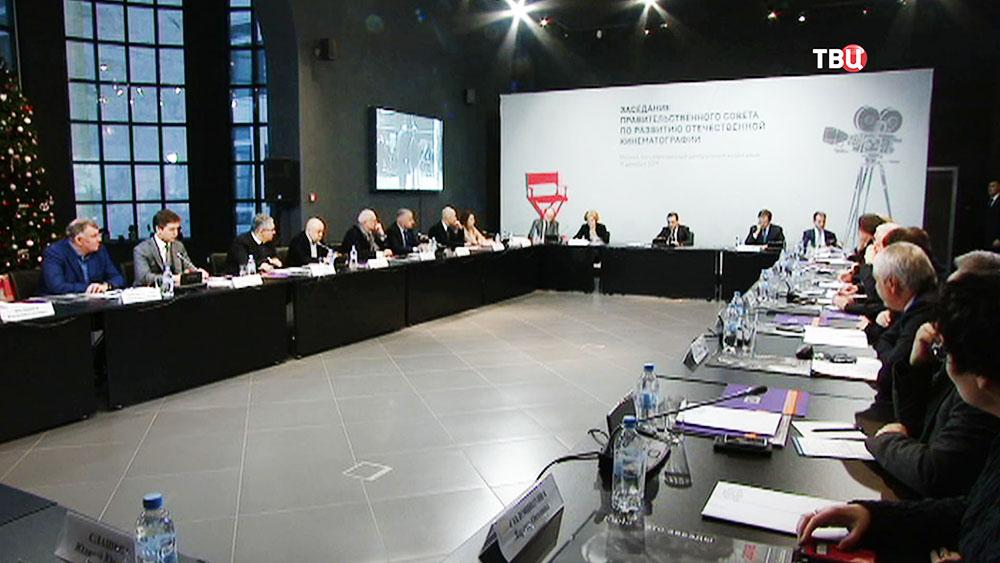 Дмитрий Медведев провел заседание правительственного совета по развитию отечественной кинематографии
