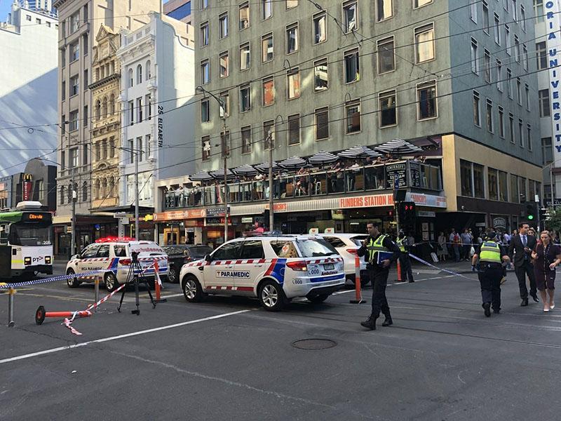 На месте происшествия в Мельбурне