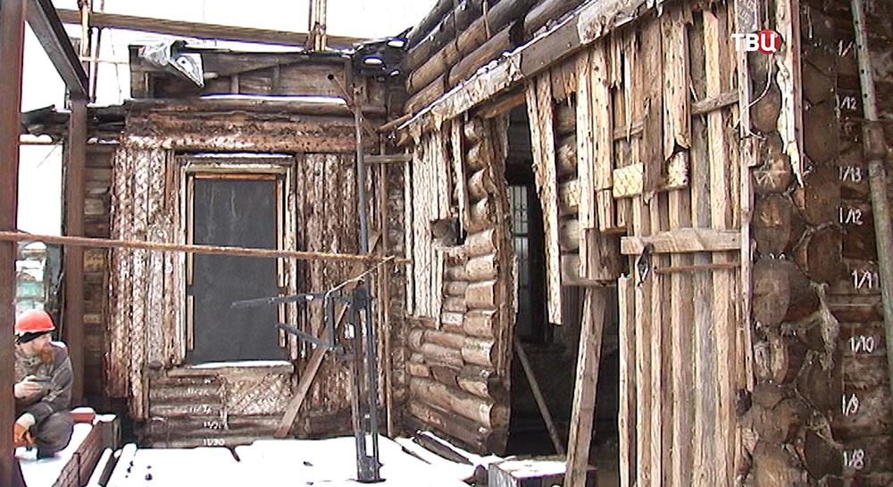 Реставрация деревянного дома XIX века