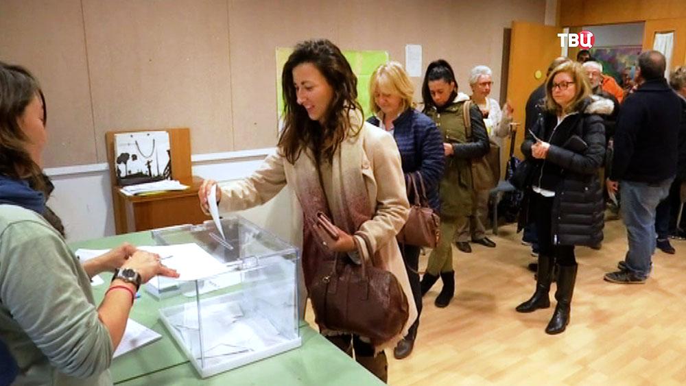 Голосование в Испании