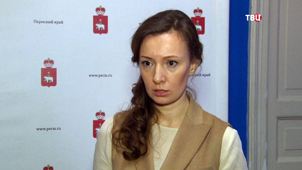 Уполномоченный при президенте по правам ребенка Анна Кузнецова