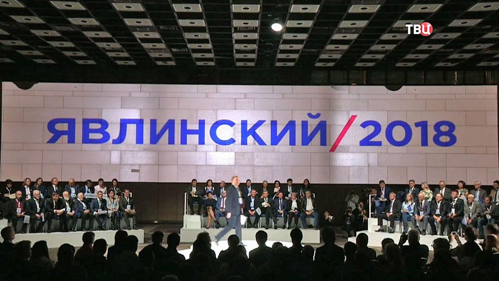 """Партия """"Яблоко"""" выдвинула Григория Явлинского кандидатом в президенты"""