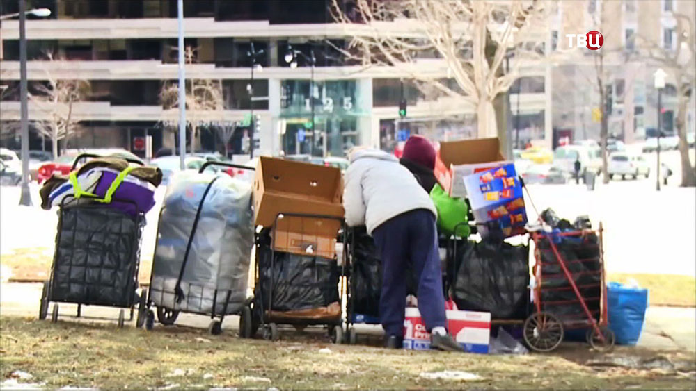 Бездомные жители США