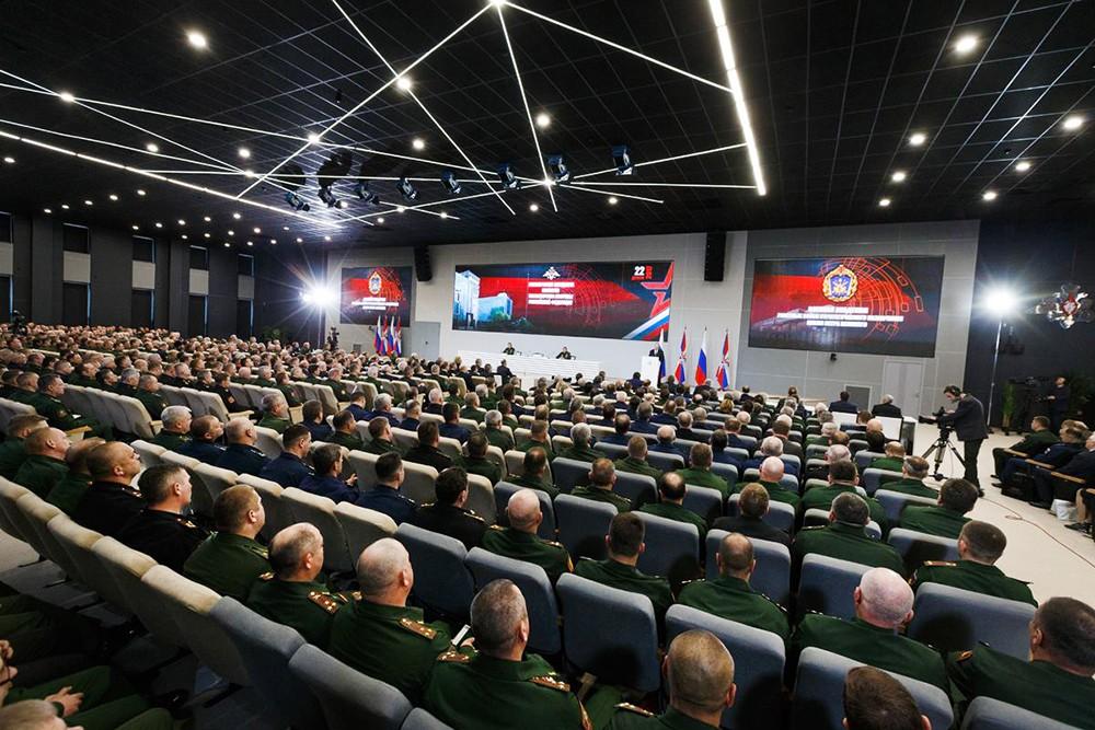 Расширенное заседание Минобороны России