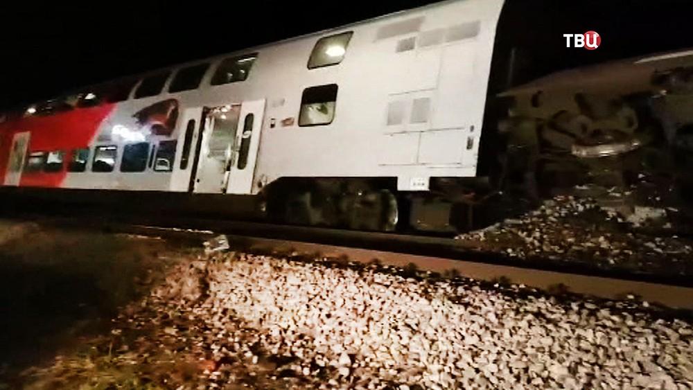 Столкновение поездов в Европе