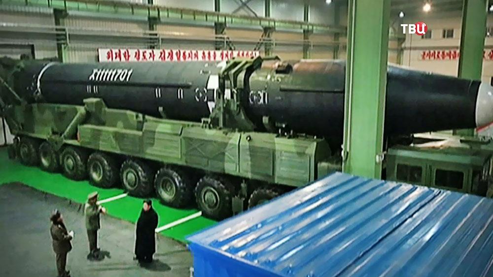 Ракета КНДР