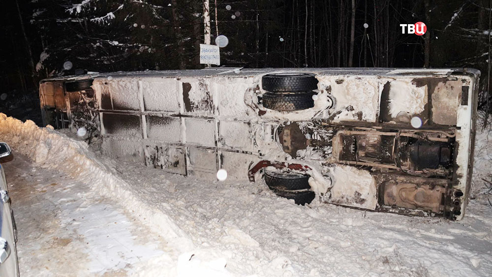 Число пострадавших вДТП савтобусом вКоми возросло до12
