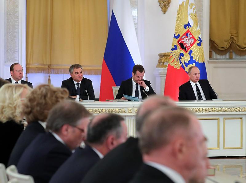 Заседание Госсовета по вопросам инвестиционной привлекательности регионов