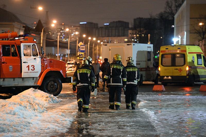 СК объявил оботработке версии теракта впетербургском «Перекрестке»