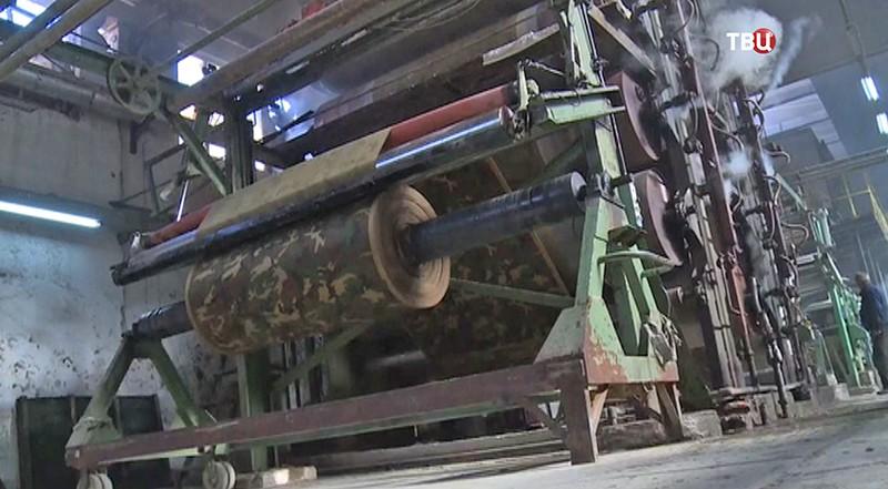 Ткацкая фабрика в Сирии