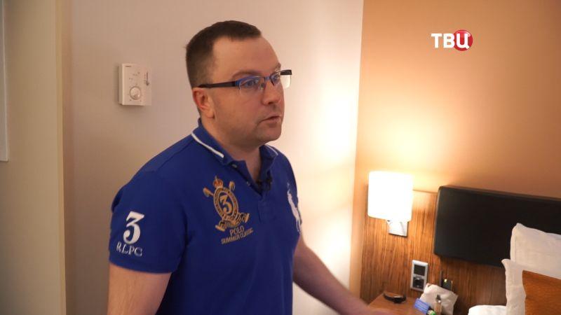 ВРиге задержали корреспондента ТВЦ исобираются выслать