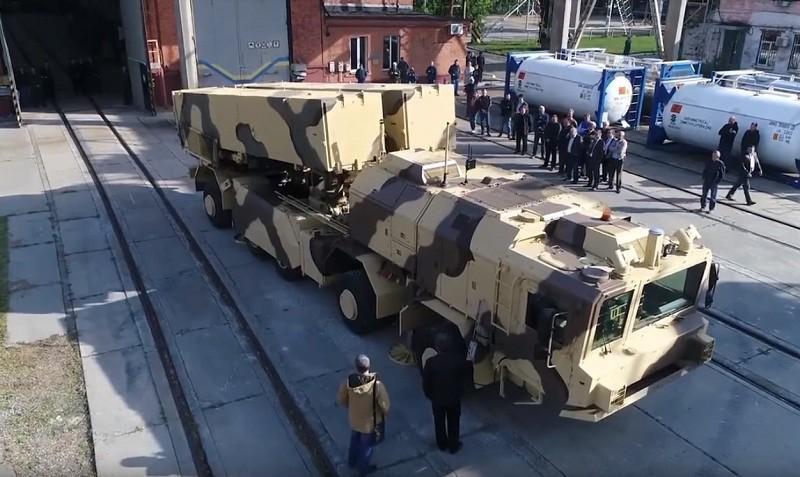 """Украинский ракетный комплекс """"Гром-2"""""""