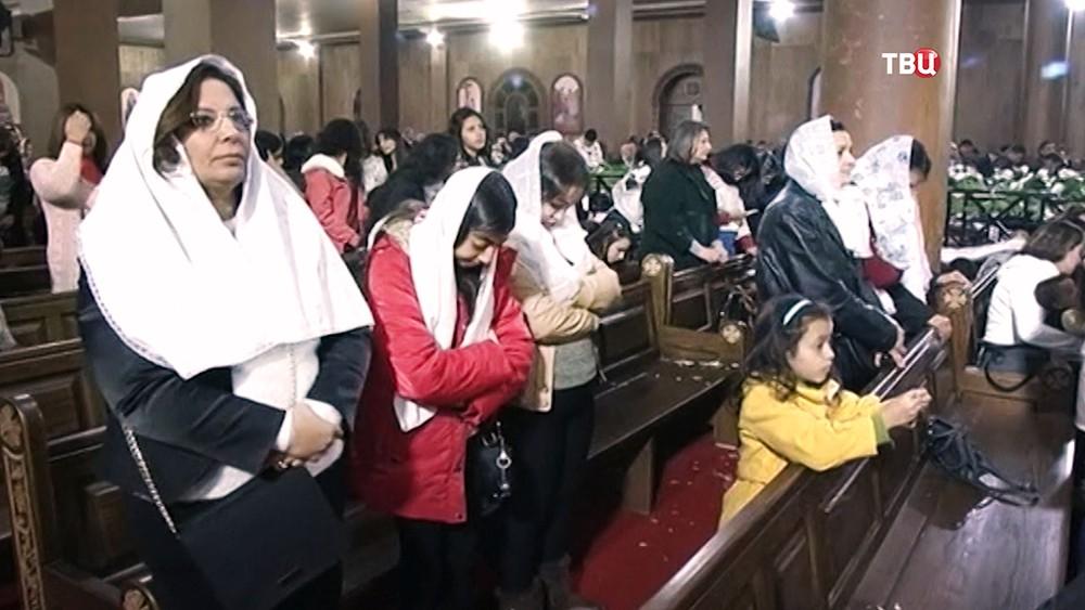 Рождественское богослужение в Египте