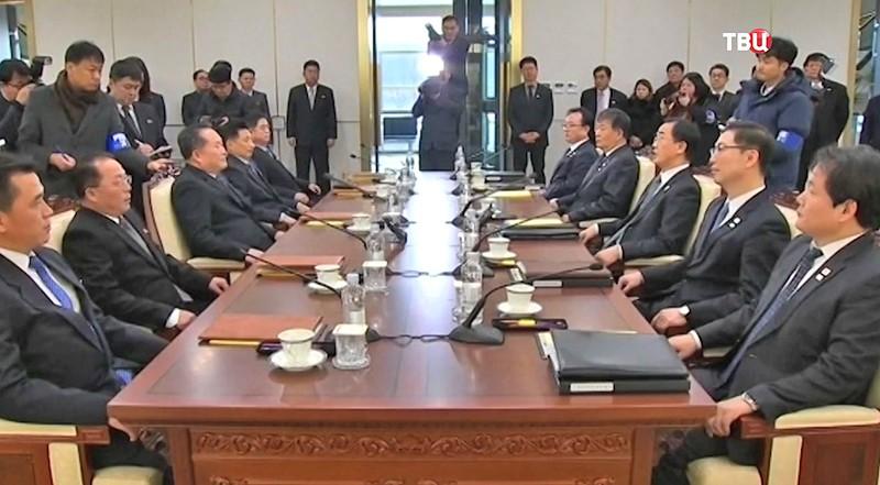 ВКремле приветствуют прямые контакты уполномоченных Сеула иПхеньяна