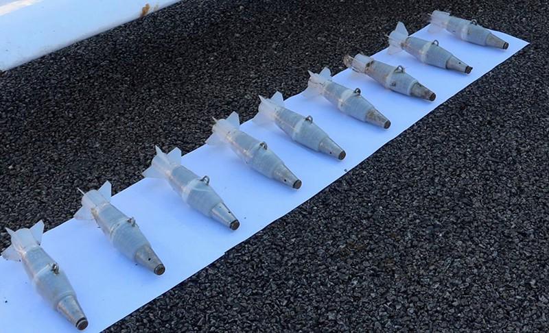Снаряды для беспилотного летательного аппарата, участвовавшего в атаке на российские военные объекты в Сирии