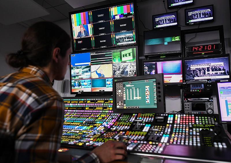 Аппаратная телеканала