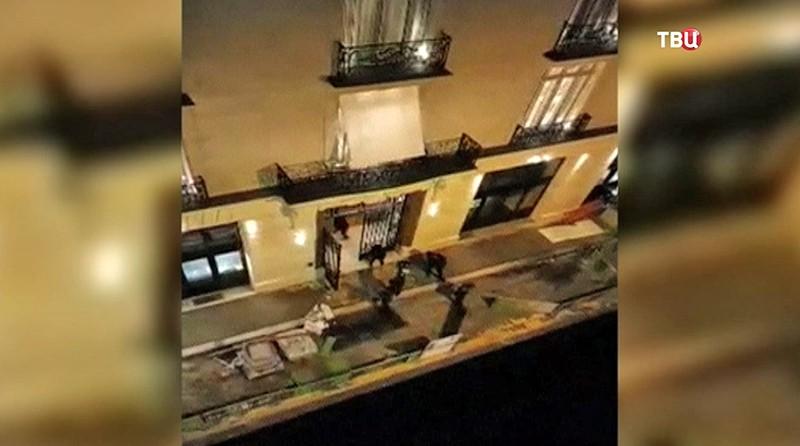 Ограбление в отеле Ritz
