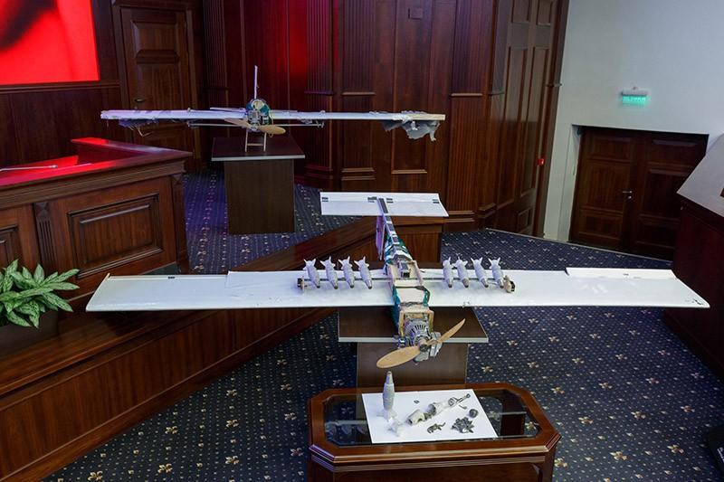 Демонстрация образцов беспилотной летательной техники