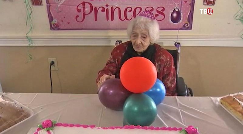 Старейшая жительница США