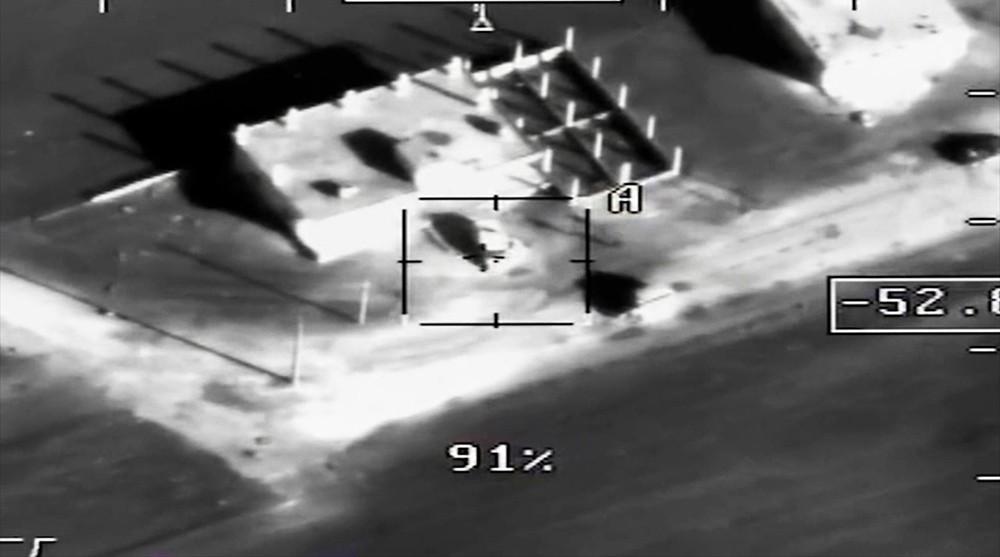 Уничтожение базы боевиков