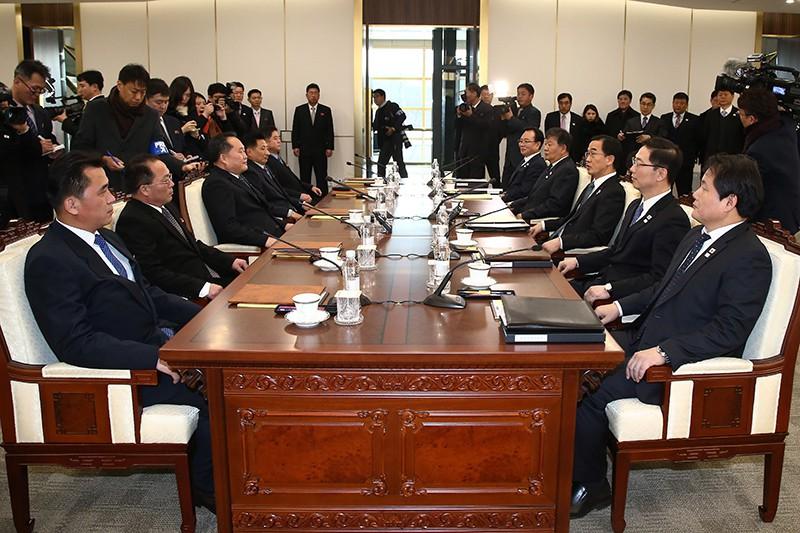 Переговоры представителей Северной и Южной Кореи