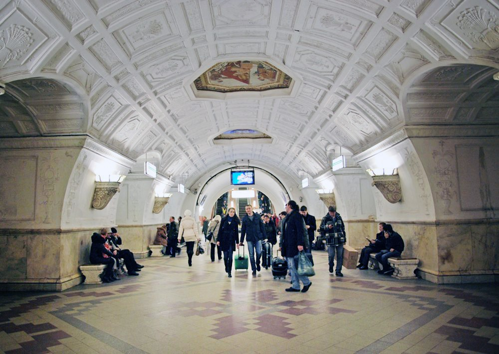 """Станция метро """"Белорусская"""" (кольцевая)"""
