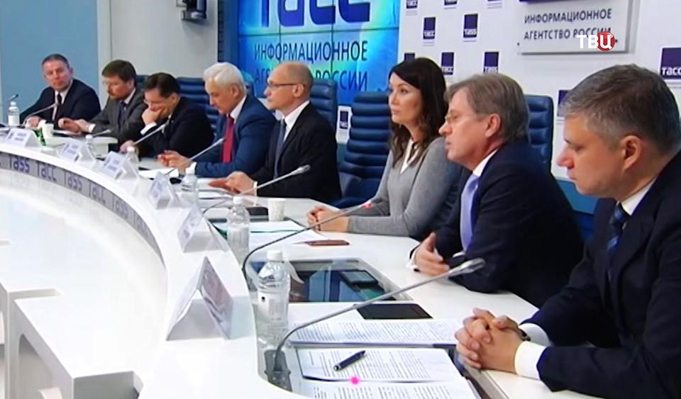 Пресс-конференция в ТАСС