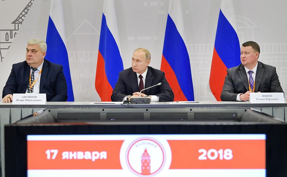 Путин поручил выделить 5 млрд руб. наблагоустройство малых городов