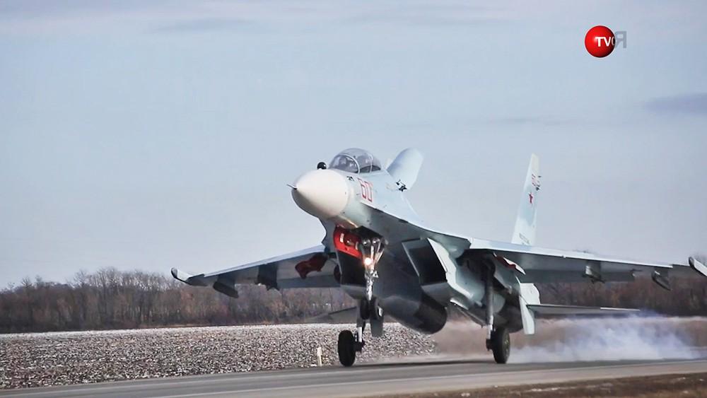 Истребитель Су-30М2
