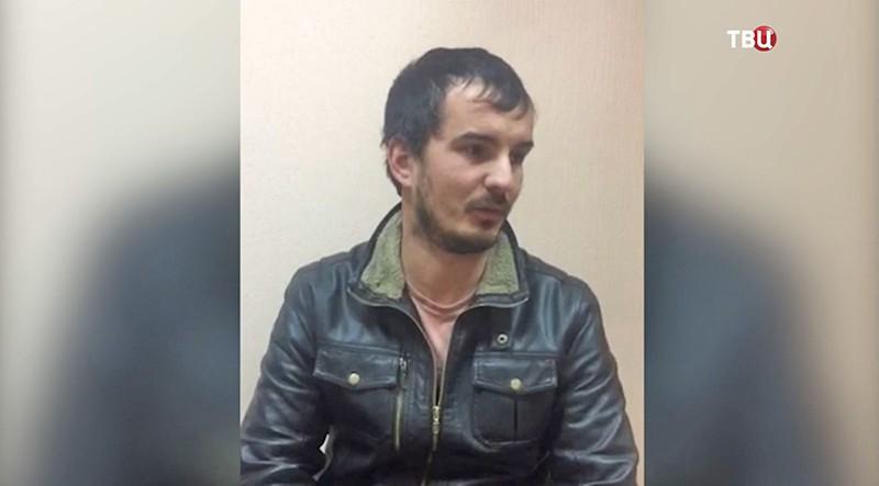 Задержаный житель Волгограда