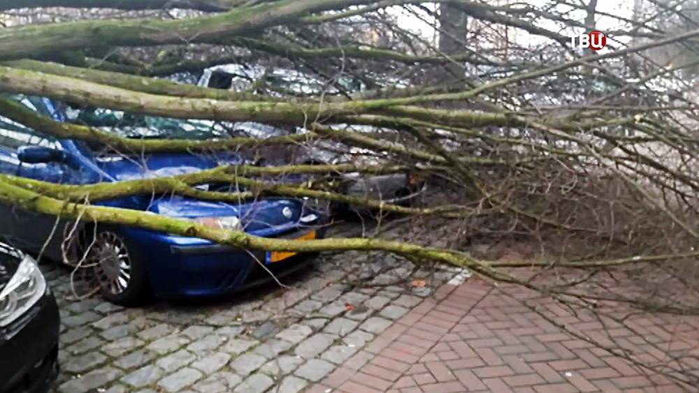 Ураганный ветер в Европе