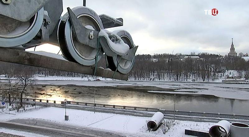 """Канатная дорога в """"Лужниках"""""""