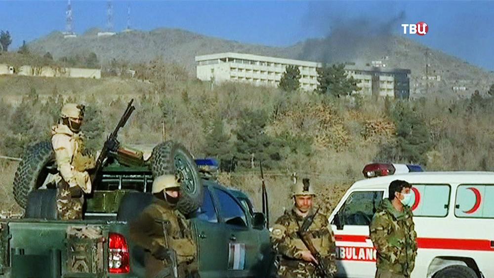 Спецоперация в Афганистане