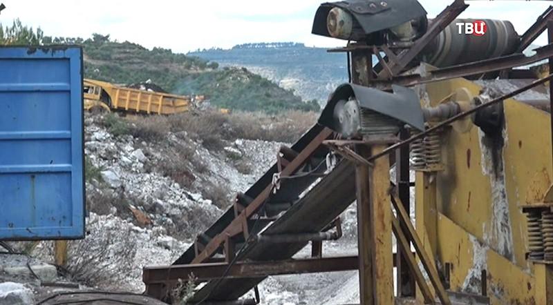 Завод по добыче природного асфальта