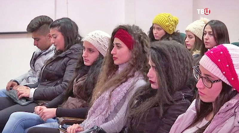 Заседание с сирийскими студентами