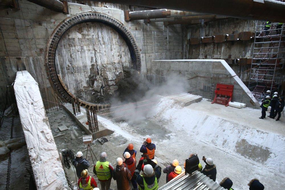 """Завершение строительства двухпутного тоннеля между станциями метро """"Косино"""" и """"Юго-Восточная"""""""