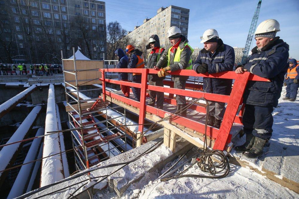 Окончено строительство тоннеля между станциями «Косино» и«Юго-Восточная»