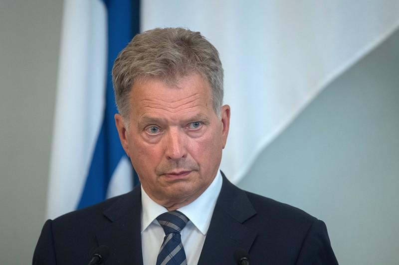 Президент Финляндии Саули Ниинистён