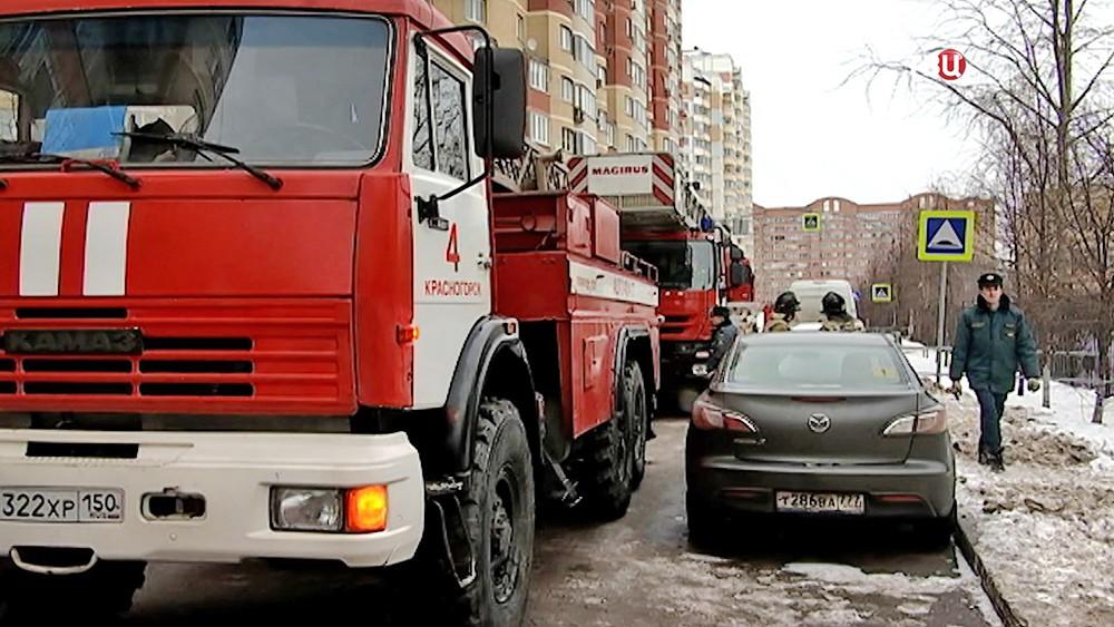 Пожарные машины Красногорска