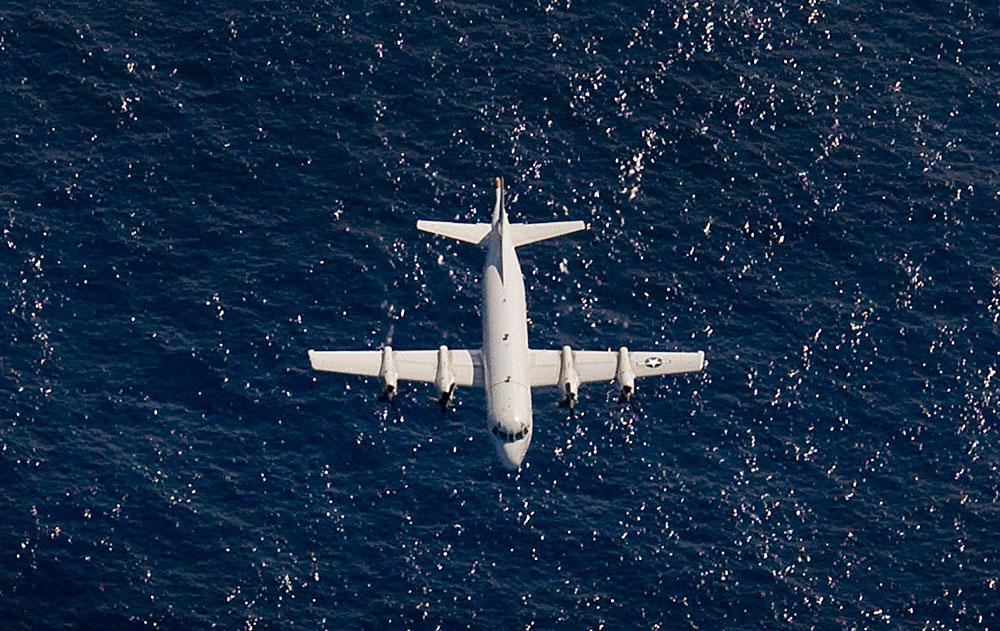 Самолет-разведчик ВМС США P-3 Orion