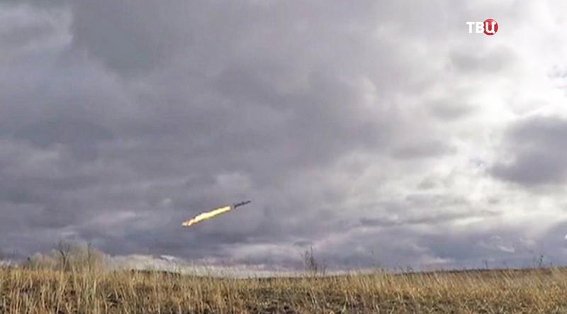 Испытание на Украине крылатой ракеты