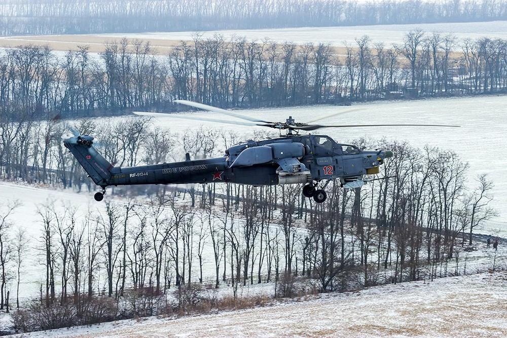 Вертолёт Ми-28Н ВКС России