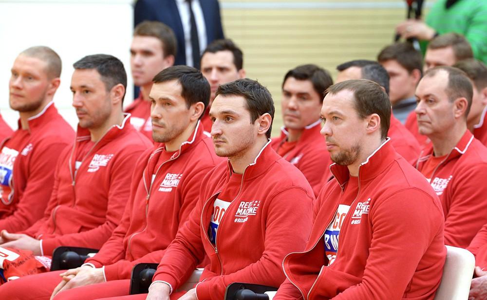 Российские спортсмены – участники XXIII Олимпийских зимних игр 2018 года в Пхёнчхане