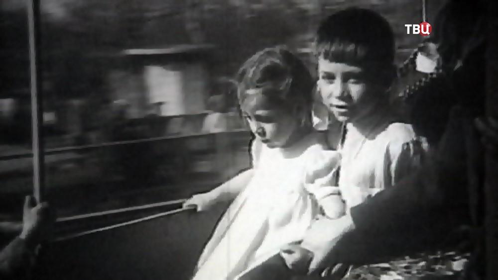 Отдыхающие в Парк Горького в 30-х годах