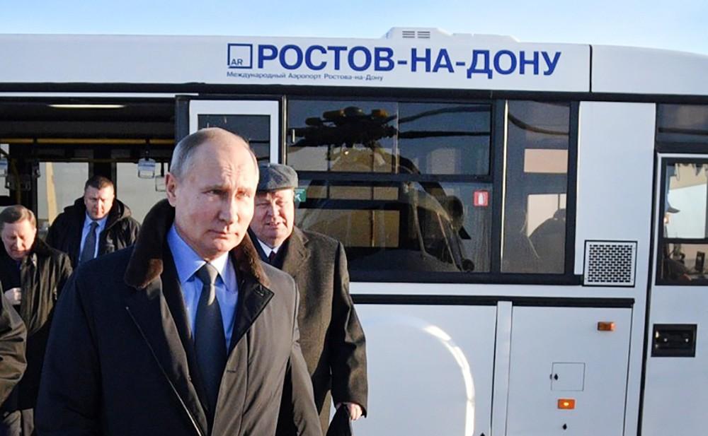 Владимир Путин в Ростове-на-Дону