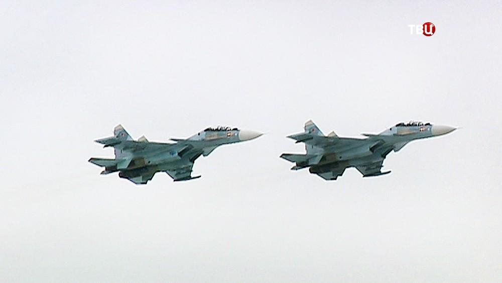 Истребители Су-30 ВКС России