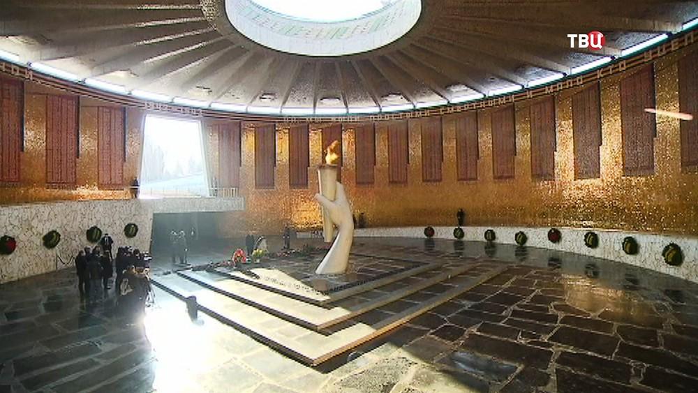 Зал Воинской Славы на Мамаевом кургане в Волгограде